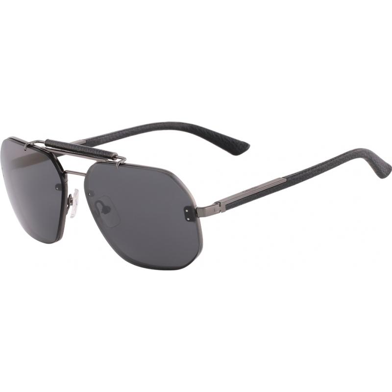 1b2cd1dd79 Calvin Klein Collection CK7361S-001 Mens CK7361S Grey Black Sunglasses