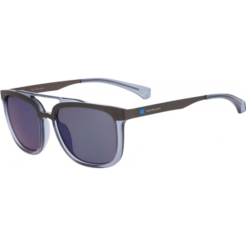 5944ca25b35 Calvin Klein Jeans CKJ461S-439 Mens CKJ461S Ice Blue Sunglasses