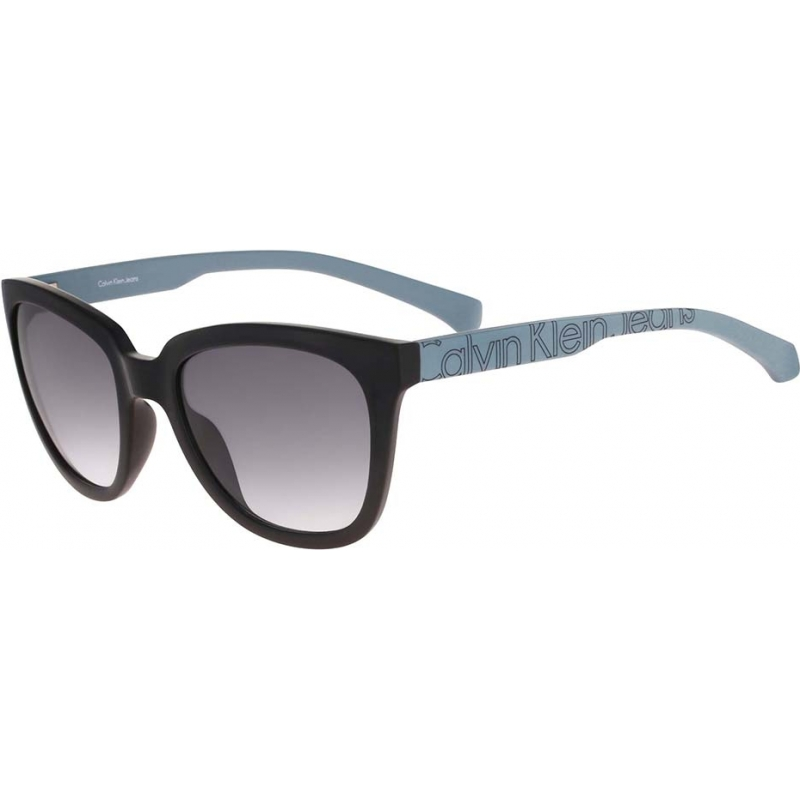 9ffc207d98a Calvin Klein Jeans CKJ779S-001 Ladies CKJ779S Black Blue Sunglasses