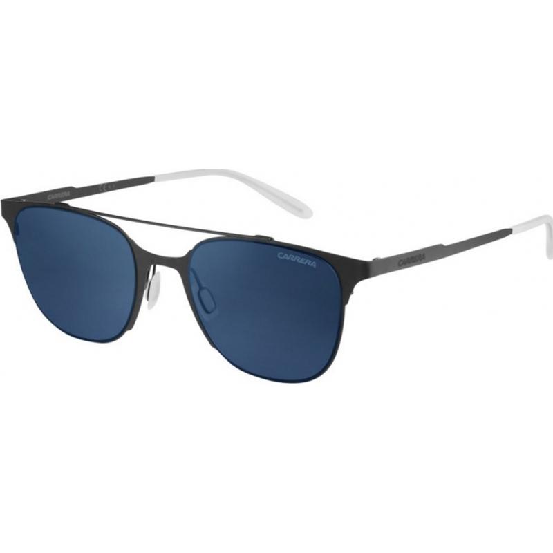 Carrera CARRERA116-S-RFB-UY-51 Mens carrera 116-s RFB uy matte grijze blauwe zonnebril