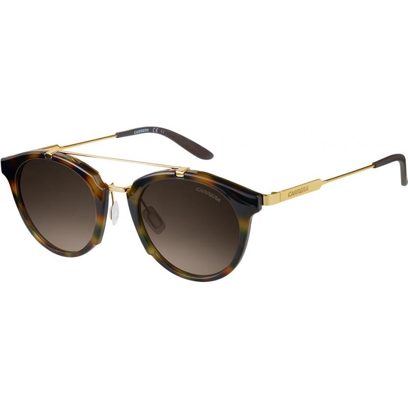 Carrera CARRERA126-S-SCN-HA-49 Mens Carrera 126-S SCN HA Havana Gold Sunglasses