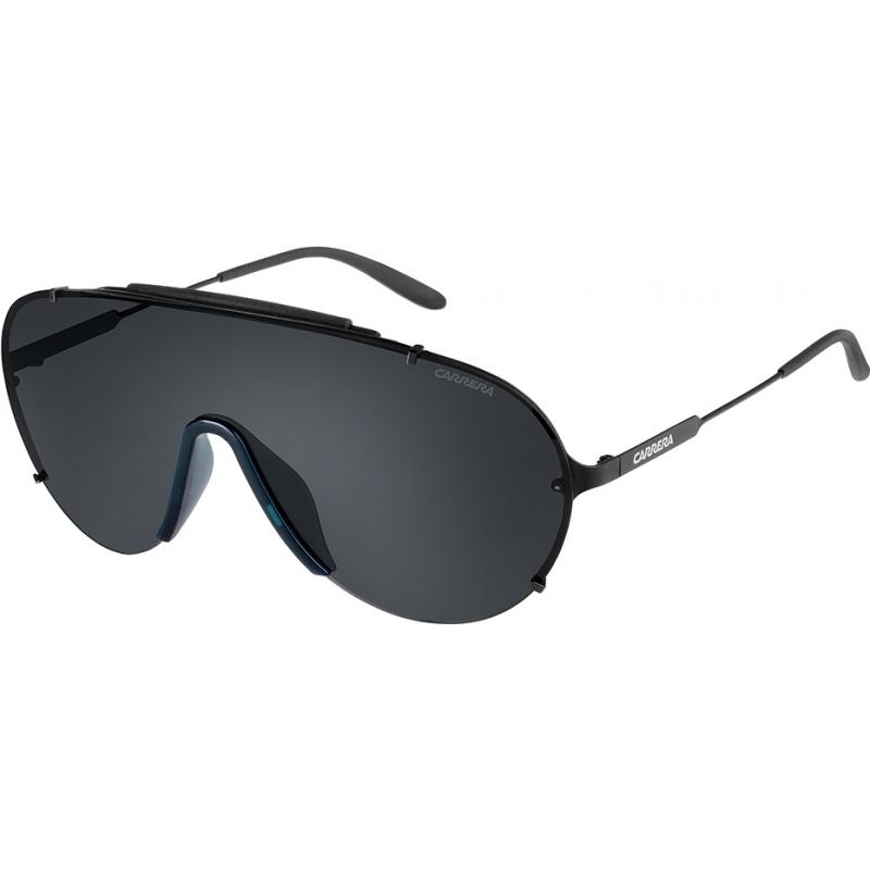 Carrera CARRERA129-S-003-P9-99 Mens carrera 129-s 003 p9 matte zwarte zonnebril