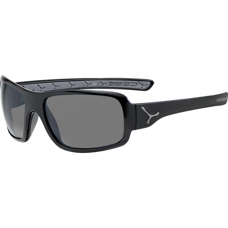Cebe CBCHAN1 Changpa skinnende svart grå solbriller