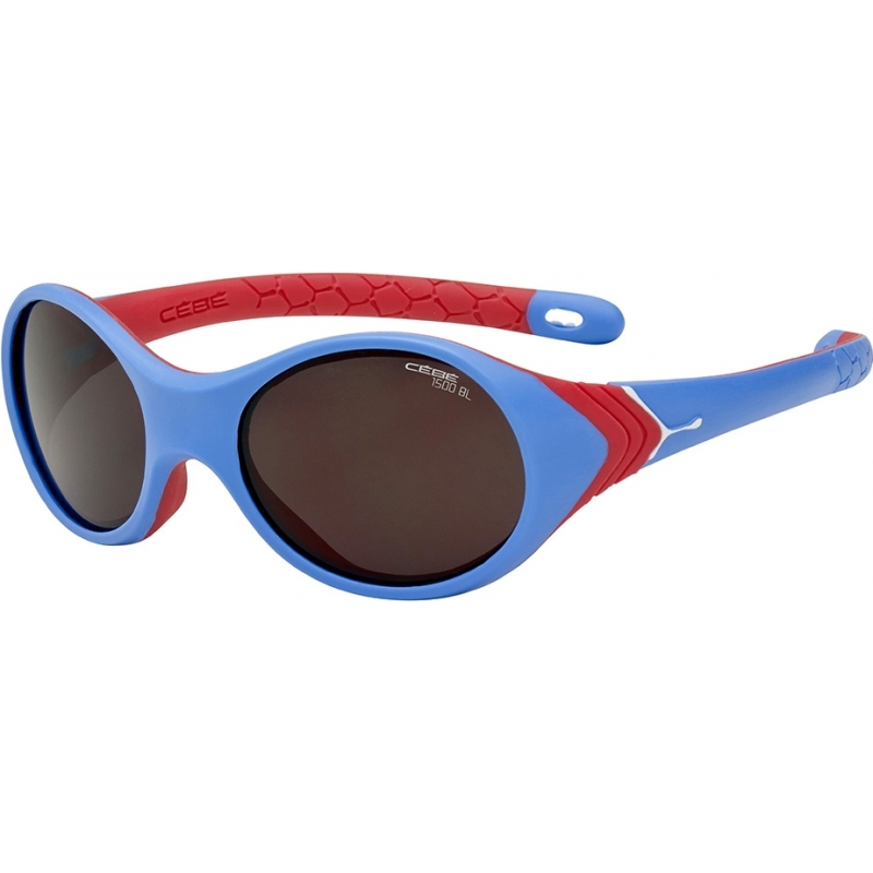 Cebe CBKANGA3 Kanga (leeftijd 1-3) blauw roze zonnebril