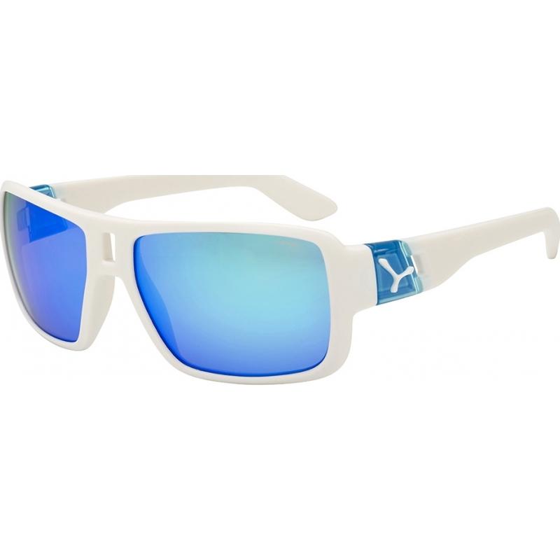 Cebe CBLAM3 Lam matt hvit blå solbriller