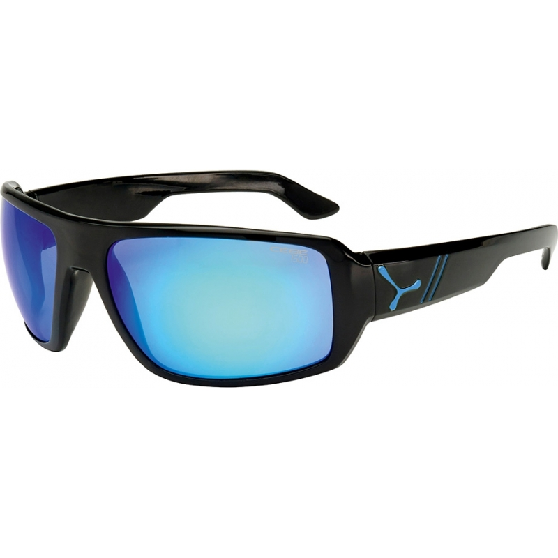 Cebe CBMAO5 Maori skinnende svart blå solbriller