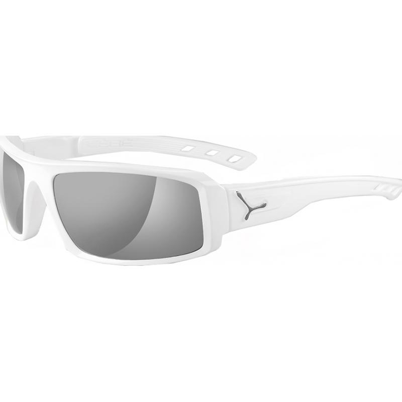 Cebe CBSENT5 S-tig skinnende hvite polariserte solbriller