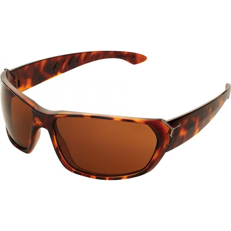 Cebe CBTREK2 Trekker skinnende skilpaddeskjell 1500 brune solbriller