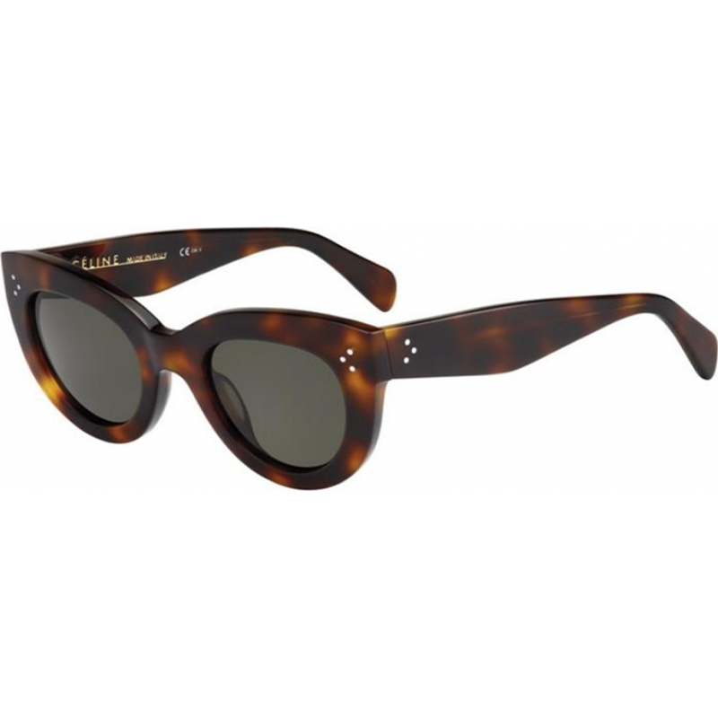 55269ca647 Celine 22709705L491E Ladies CL 41050-S 05L 1E Tortoiseshell Sunglasses
