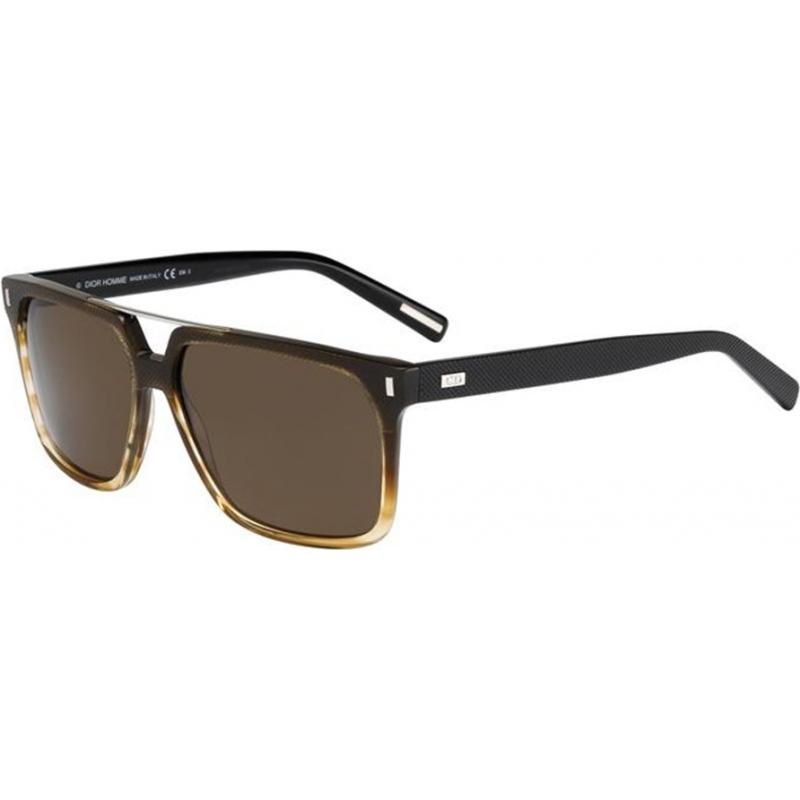 Dior Homme 213343ANH58SP Mens Black Tie 134 s óculos de sol Anh sp