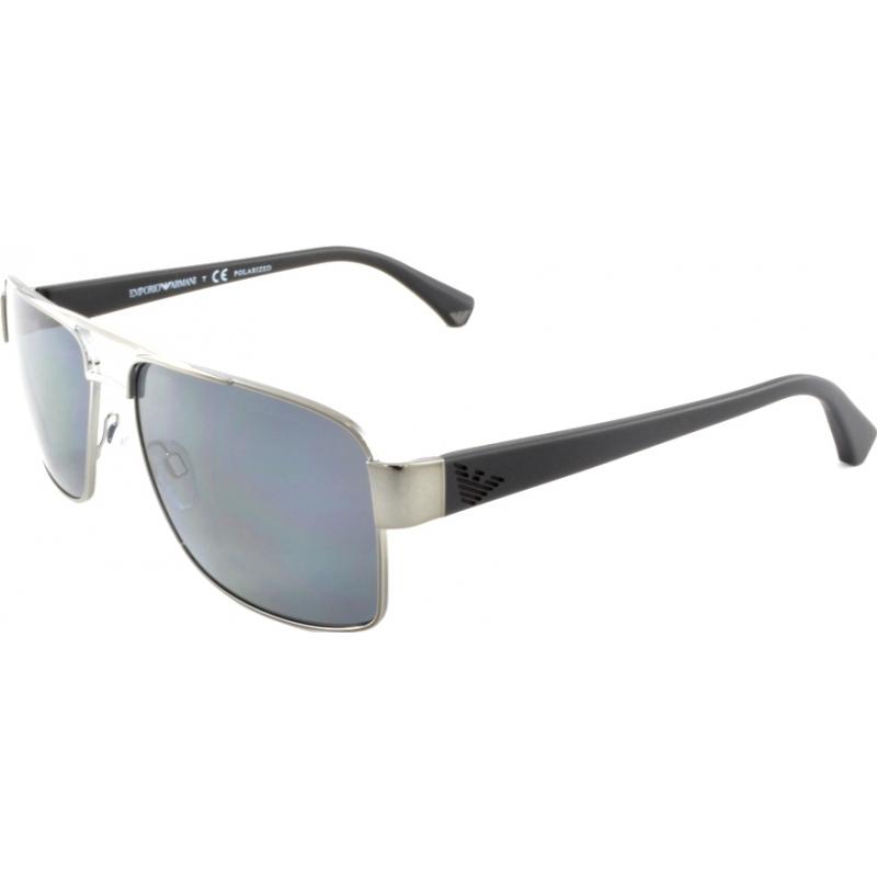 02c647d0c1bf Emporio Armani EA2002 57 Essential Leisure Gunmetal 301081 Polarized  Sunglasses