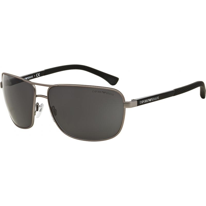 13d03a7ae2f1 Emporio Armani EA2033-64-313087 Ea2033 64 современный пушечного резиновые  313087 солнцезащитные очки