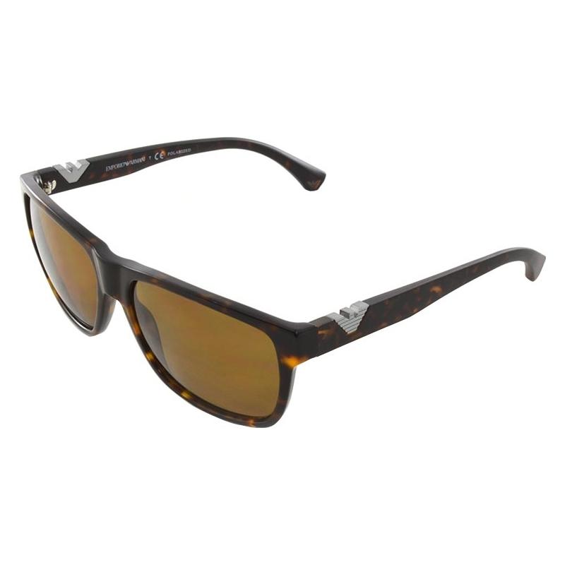 Emporio Armani EA4035-58-502683 Ea4035 58 moderno avana scuro 502683 occhiali da sole polarizzati