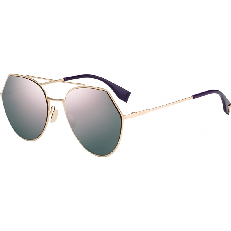 8e4add5b890 Fendi Ladies FF 0194-S DDB AP Gold Copper Sunglasses. Save for Later