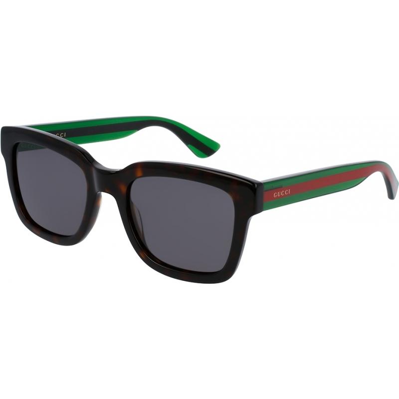 Gucci GG0001S-003-52 Mężczyźni gg0001s 003 okulary