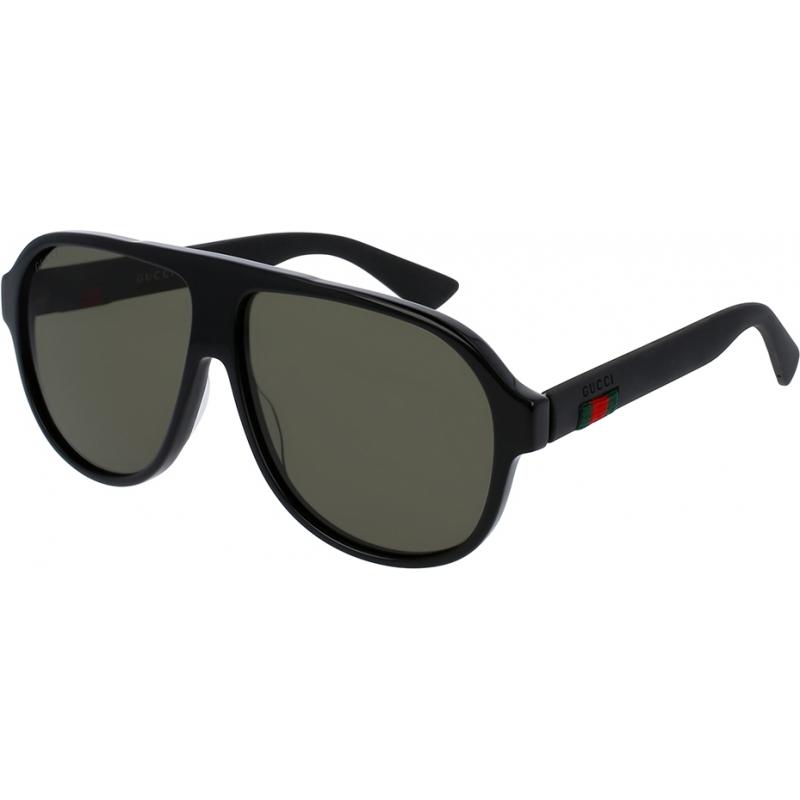 Gucci GG0009S-001-59 Mężczyźni gg0009s 001 okulary