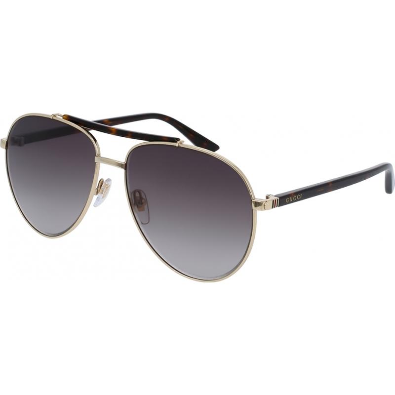 Gucci GG0014S-002-60 Mężczyźni gg0014s 002 okulary