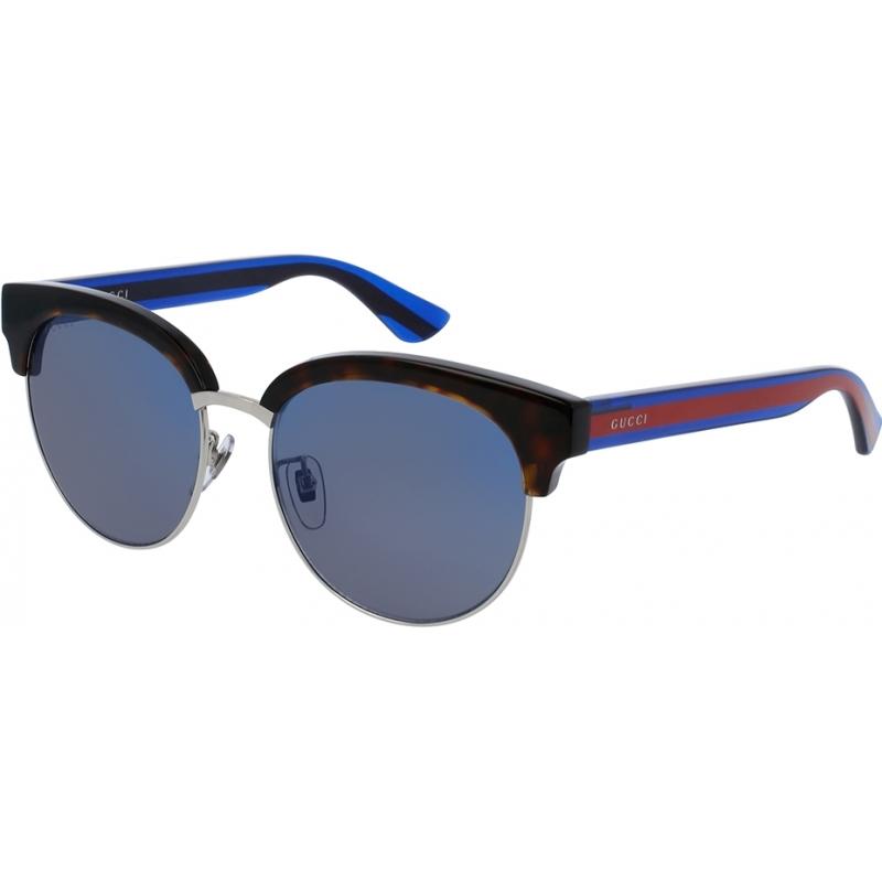 Gucci GG0058SK-004-55 Mens GG0058SK 004 Sunglasses
