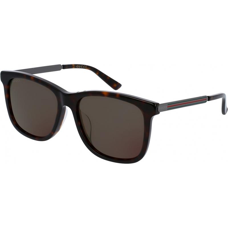 Gucci GG0078SK-004-56 Mens GG0078SK 004 Sunglasses