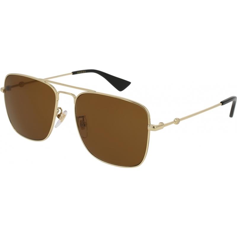 Gucci GG0108S-001-55 Mens GG0108S 001 Sunglasses