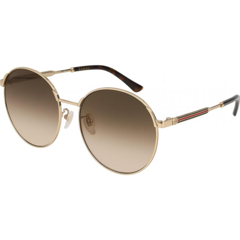 eee0b7a5c260 Gucci GG0206SK-003-58 Солнцезащитные очки Gg0206sk 003 58