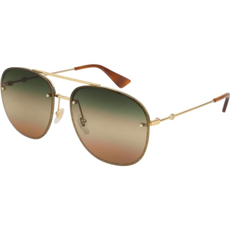 Gucci GG0227S-004-62 Mens gg0227s 004 62 okulary przeciwsłoneczne