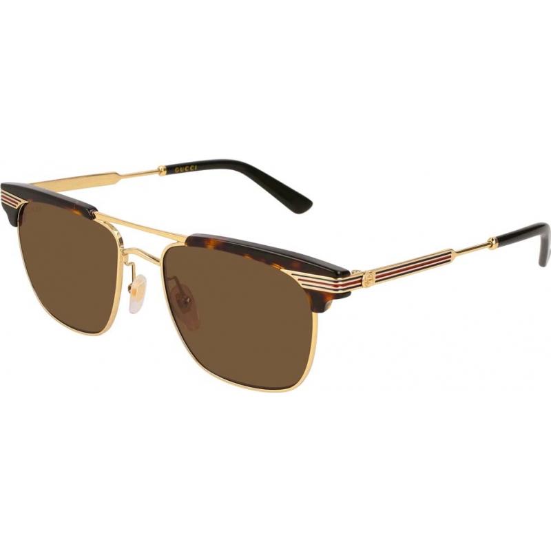 Gucci GG0287S-003-52 Męskie gg0287s 003 52 okulary przeciwsłoneczne