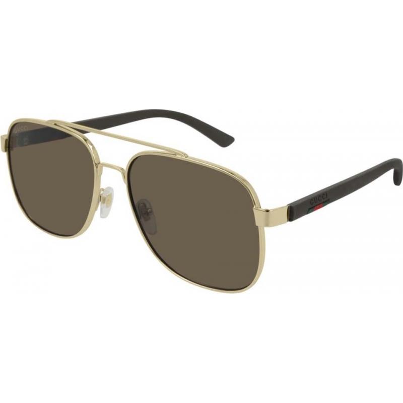 108219145b GG0422S-003-60 Mens Gucci Sunglasses - Sunglasses2U