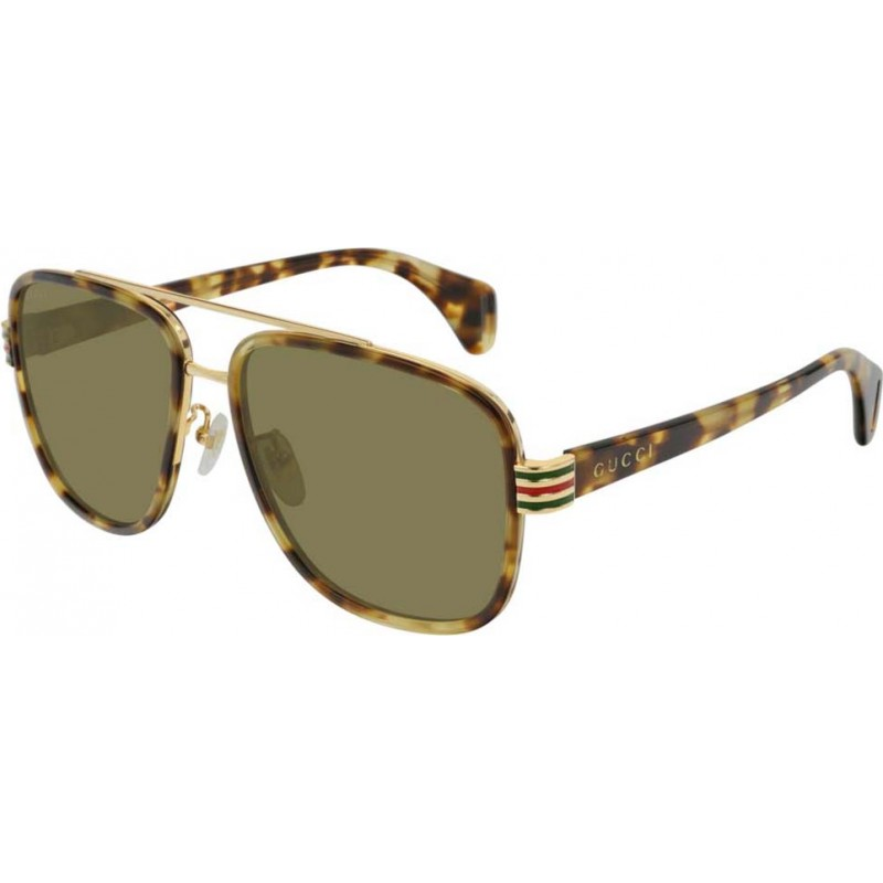 583d43296ae Gucci GG0448S-005-58 Mens GG0448S 005 58 Sunglasses
