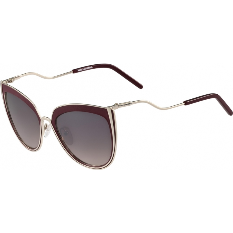 263715dab9 Karl Lagerfeld KL245S-534 Ladies KL245S Shiny Medium Gold Sunglasses