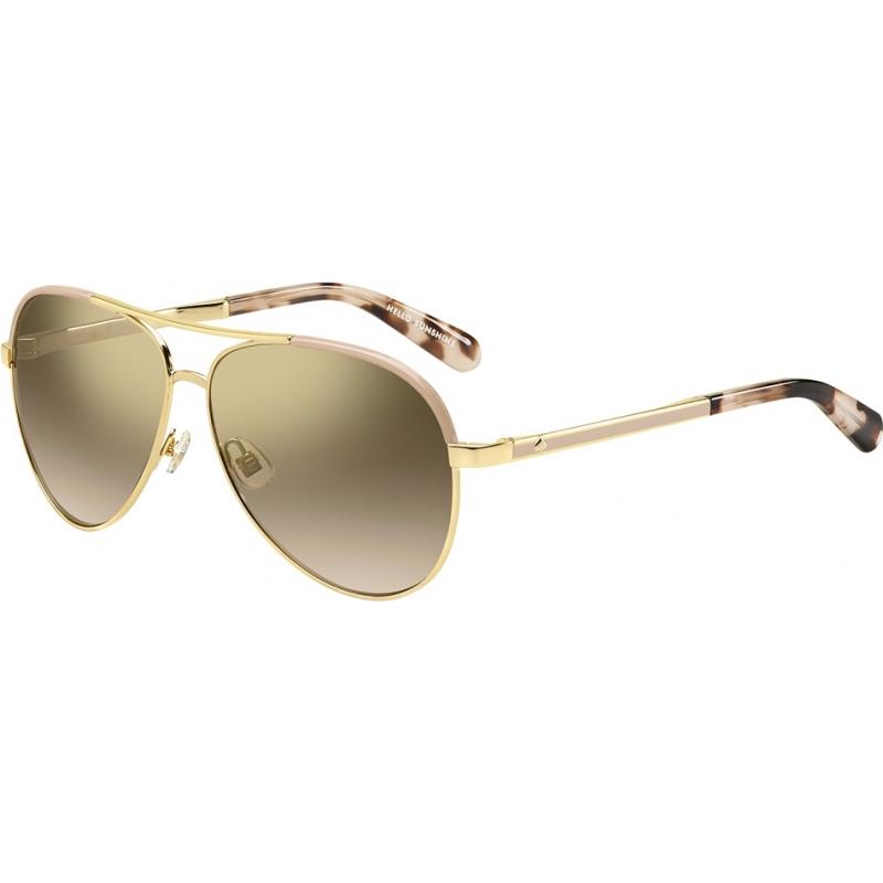 8a632cfa3fb Kate Spade New York Ladies Amarissa-S 04Z 0R Gold Pink Sunglasses