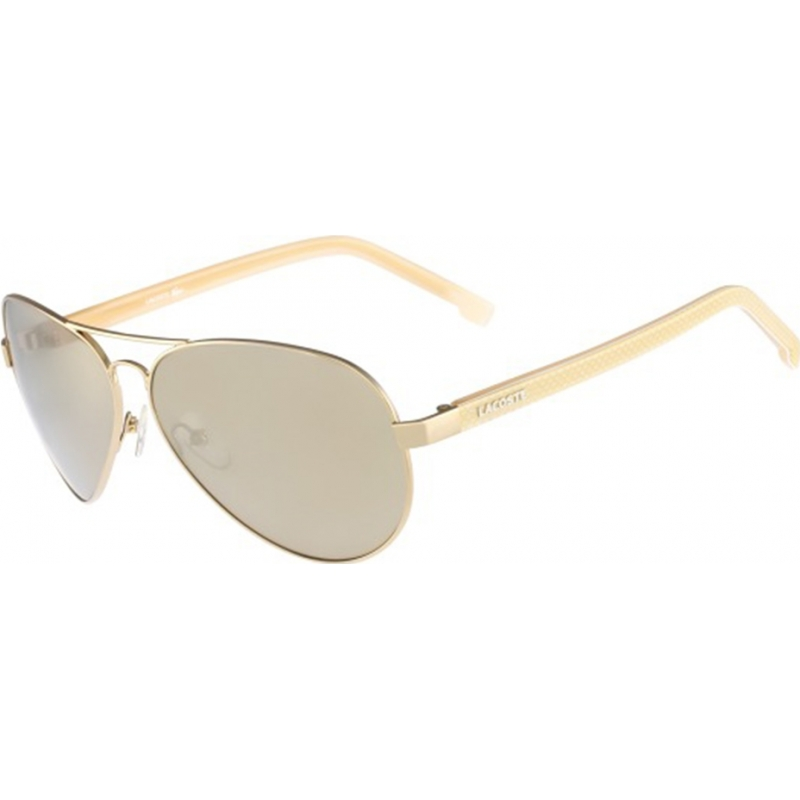 0d3844dcf69 Lacoste L163S-714 Mens L163S Light Gold Sunglasses