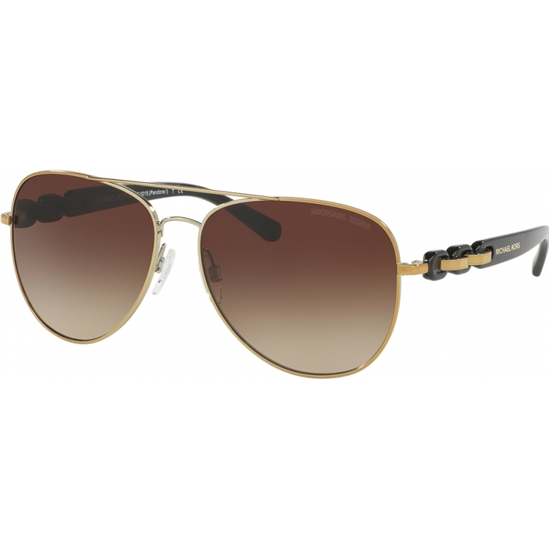 Michael Kors MK1015-58-112813 Mk1015 58 Pandora Złote 112813 okulary