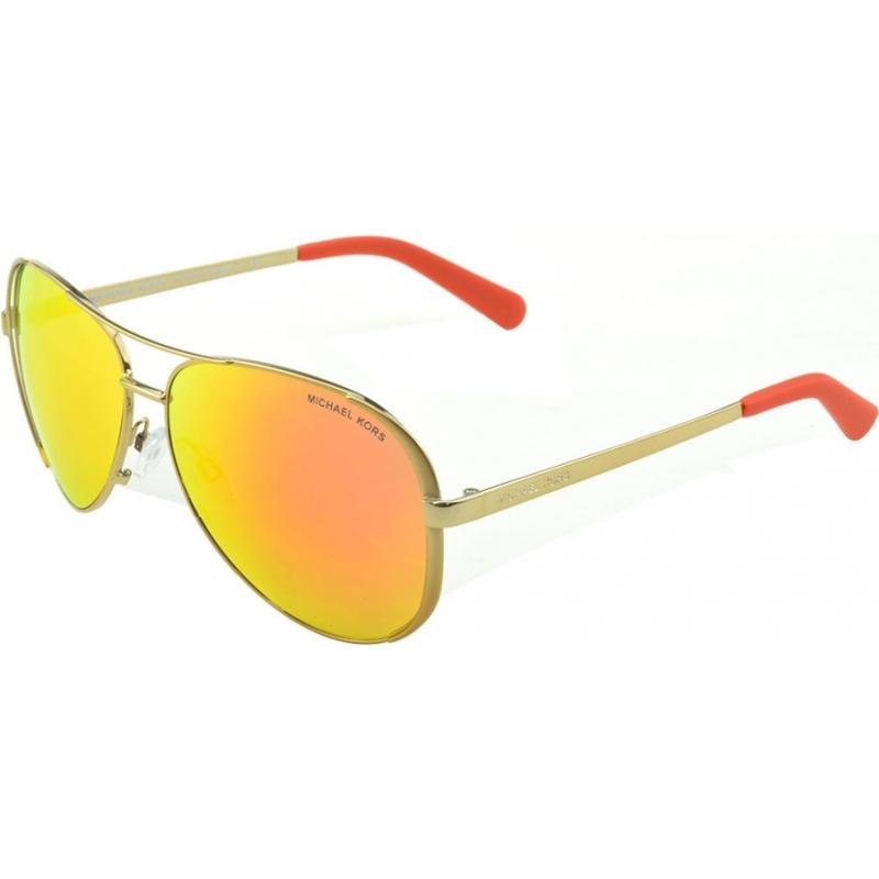 78690f20cd Michael Kors Mk5004 Chelsea Polarized Sunglasses Silver W silver Mirror