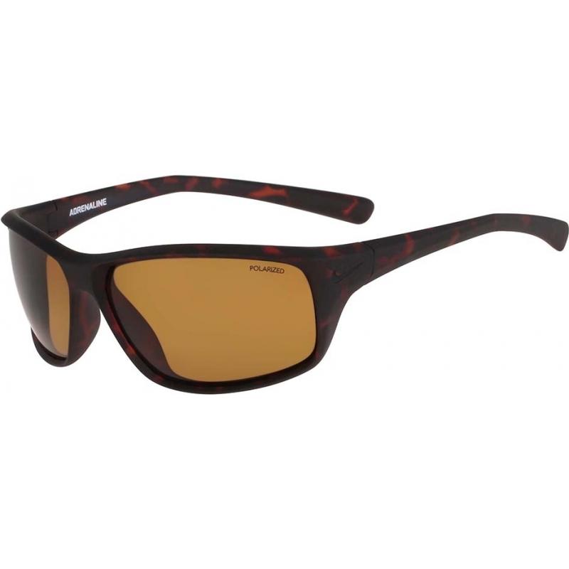 d141065233 Nike EV0606 Adrenaline P Cocoa Brown Polarized Sunglasses