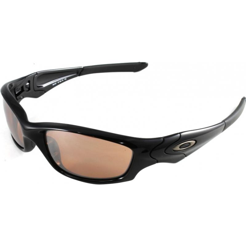 a0ca9a10a8 Oakley Straight Jacket Black Iridium Polarized Polished Black