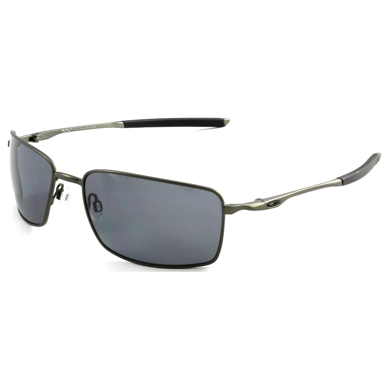 6f6bca17c75 Oakley OO4075-04 Square Wire Carbon - Grey Polarized Sunglasses. Save for  Later