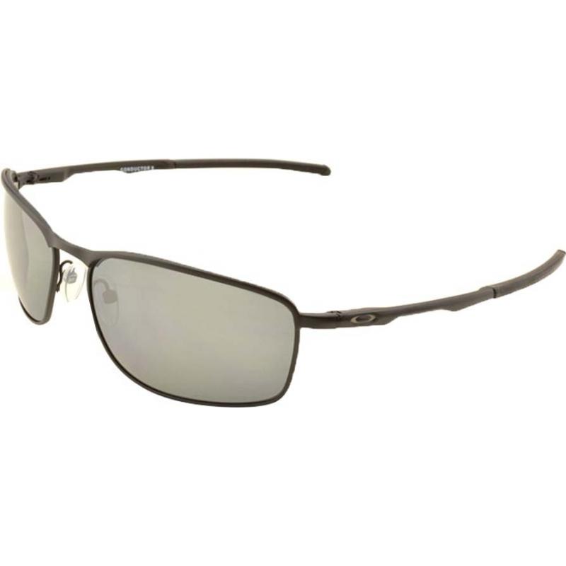 7c28908988e Oakley OO4107-02 Conductor 8 Matte Black - Black Iridium Polarized  Sunglasses