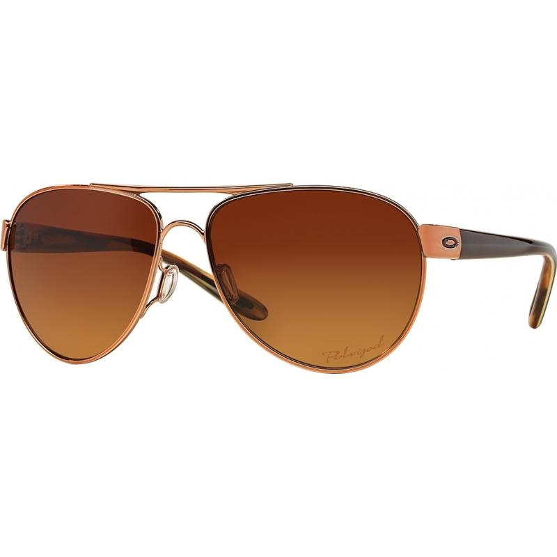 4c94259ffa Oakley OO4110-05 Disclosure Rose Gold - Brown Gradient Polarized Sunglasses