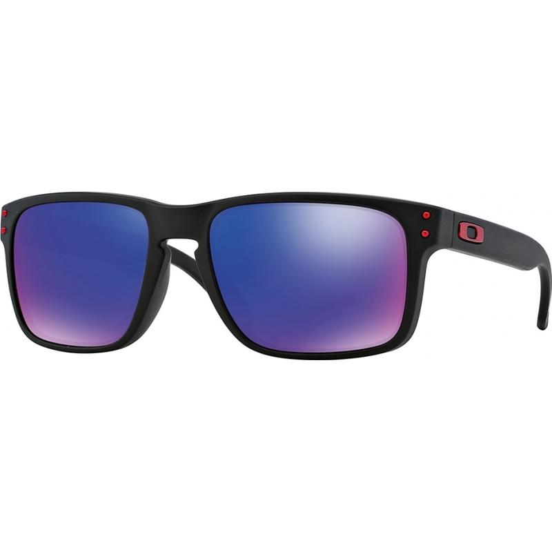 Oakley OO9102-36 Oo9102-36 Holbrook matná černá - červená iridium sluneční brýle