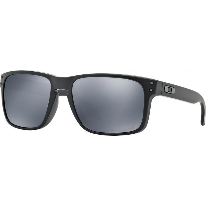 2bb2542d17 Oakley OO9102-62 Holbrook Matte Black - Black Iridium Polarized Sunglasses
