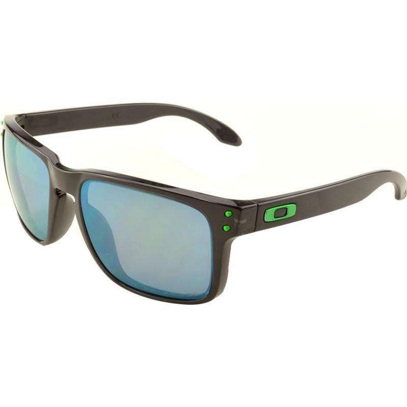 6026bcb2b4 Oakley OO9102-69 Holbrook Black Ink - Jade Iridium Polarized Sunglasses