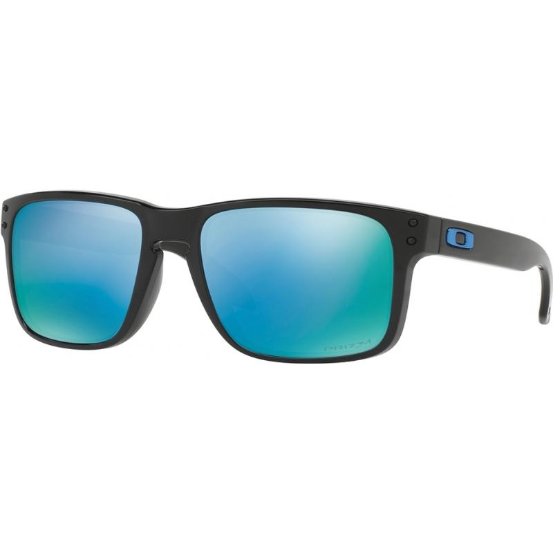 f139d67804 Oakley OO9102-C1 Holbrook Polished Black - Prizm Deep H2O Polarized  Sunglasses