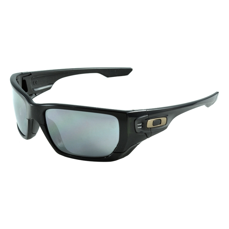 mens sunglasses oakley hd49  Oakley OO9194-01 OO9194-01 Style Switch Polished Black