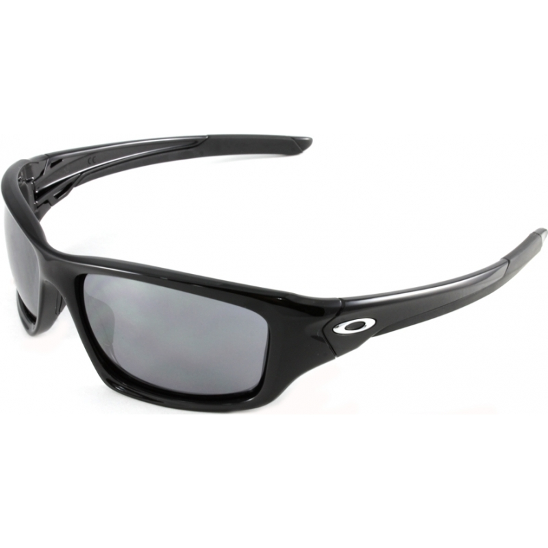 54b223c44d Oakley OO9236-01 OO9236-01 Valve Polished Black - Black Iridium Sunglasses