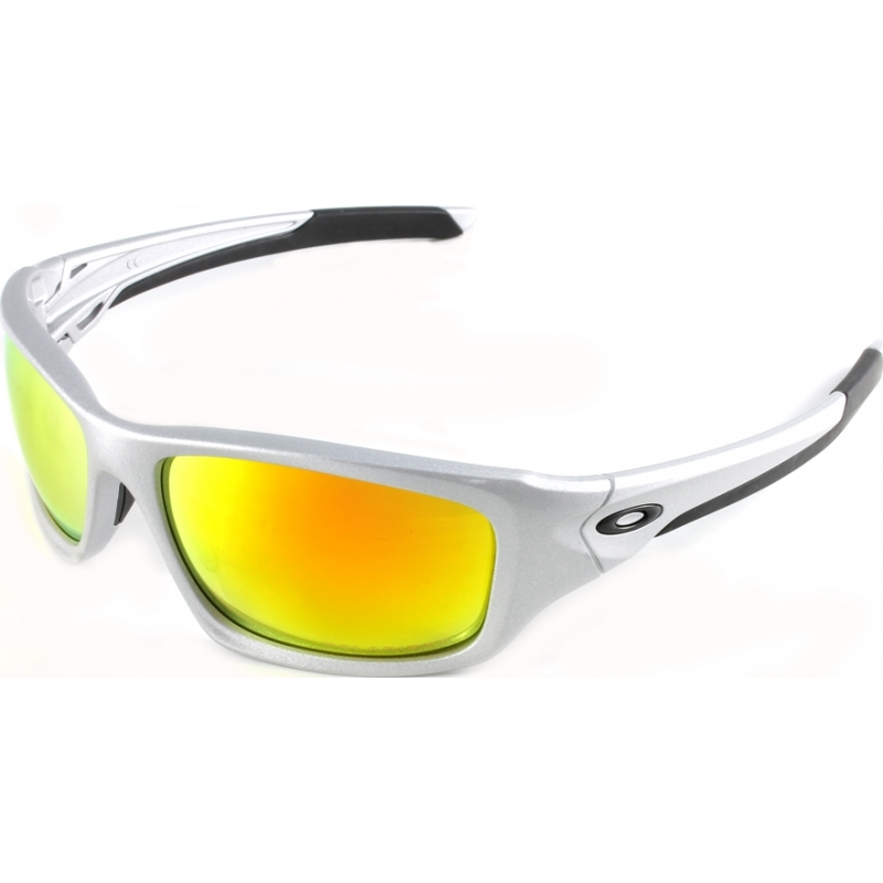 0d858e8172 Oakley OO9236-07 OO9236-07 Valve Silver - Fire Iridium Polarized Sunglasses