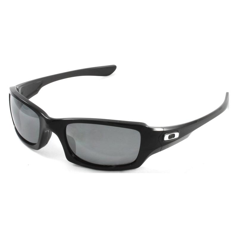 ae3b4eb8957 Oakley OO9238-06 Fives Squared Polished Black - Black Iridium Polarized  Sunglasses