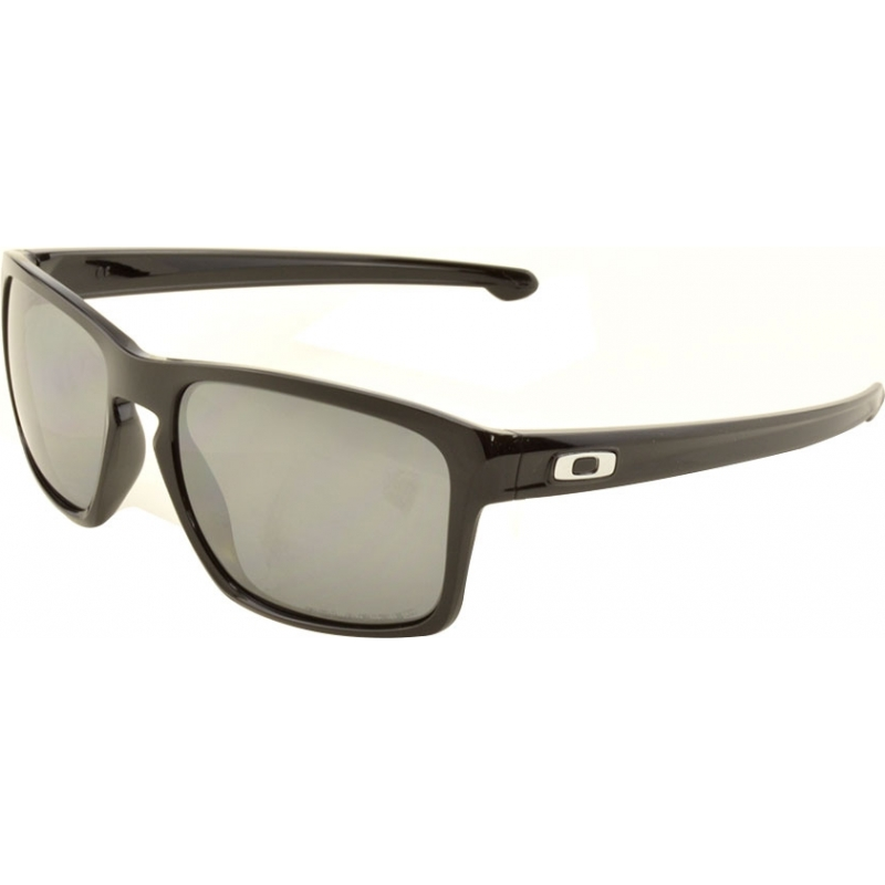 a74ef9a6411 Oakley OO9262-09 OO9262-09 Sliver Polished Black - Black Iridium Polarized  Sunglasses