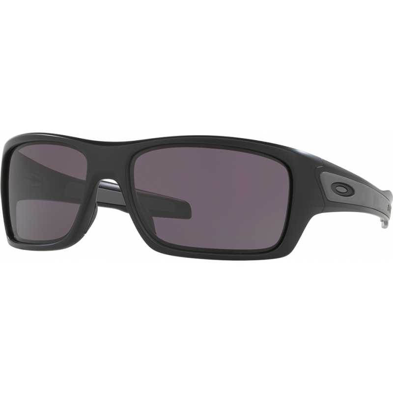 8975a0f366e Oakley OO9263-01 OO9263-01 Turbine Matte Black - Warm Grey Sunglasses