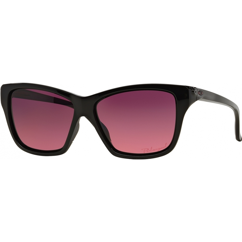 Oakley OO9298-02 OO9298-02 Hold On Polished Black - Rose Gradient Polarized Sunglasses